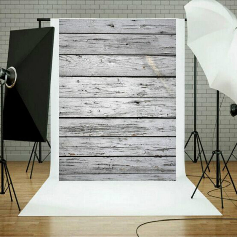 Photo Studio Prop Wood Grain Background Cloth, Size:1.5m x 2.1m(0029)