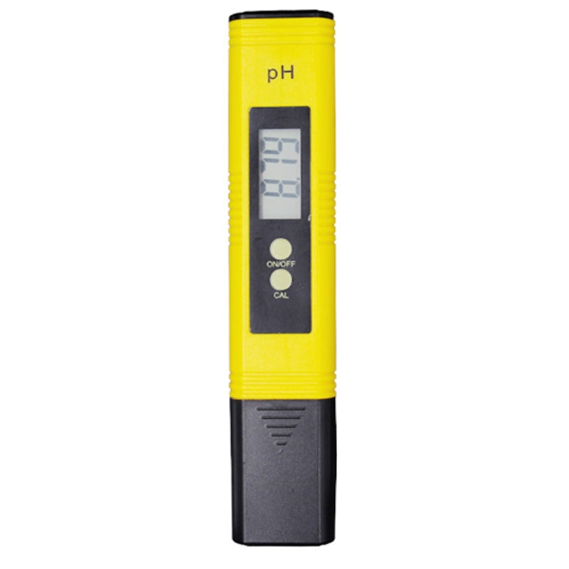 Portable High-precision PH Test Pen PH Acidity Meter PH Water Quality Detection Instrument(Yellow)