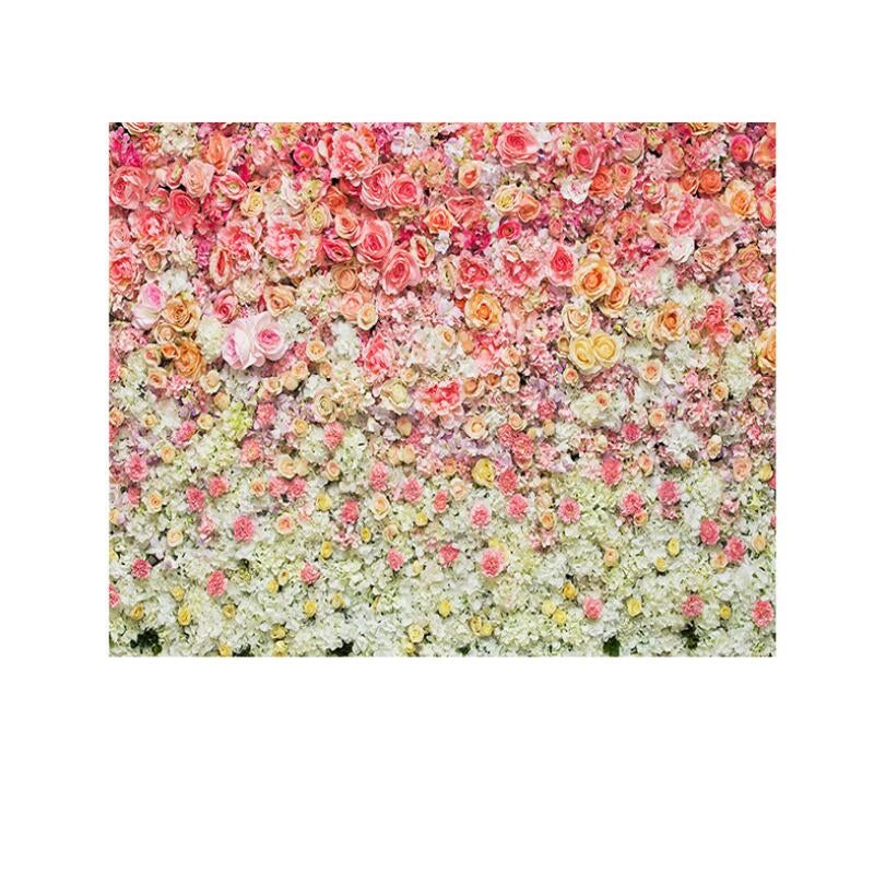 2.1m x 1.5m Rose Wall Wedding Party Photo Photography Background Cloth
