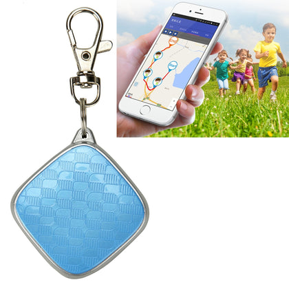 G01 Personal GPS Monitor Tracker Pet GSM GPRS Tracking Device with Key Chain for Kids & Old People, Support Geo-fence Alarm, Real-
