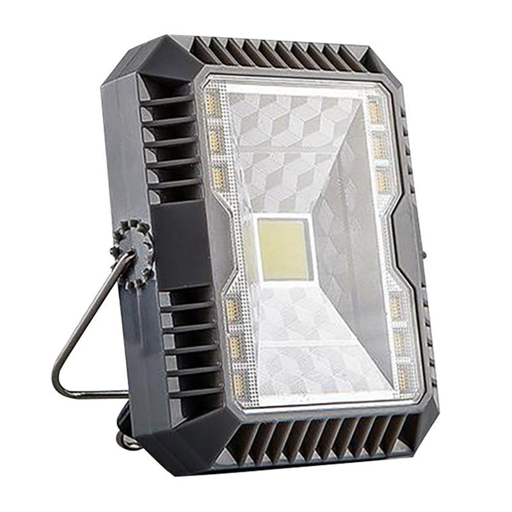 YWXLight Solar Powered LED Flood Light IP55 Waterproof Wall Light Outdoor Safety Camping Emergency Lamp