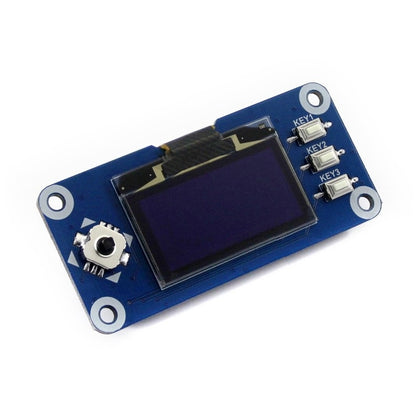 Waveshare 1.3 inch 128x64 Pixels SPI/I2C Interface OLED Display HAT for Raspberry Pi