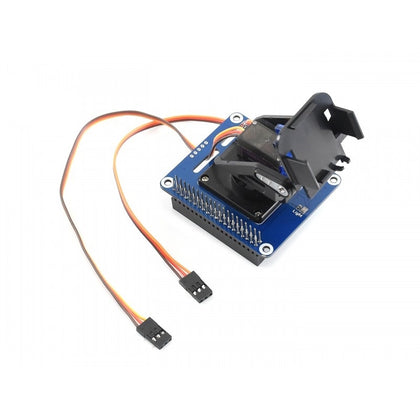 Waveshare 2-DOF Pan-Tilt HAT for Raspberry Pi, Light Intensity Sensing, I2C Interface