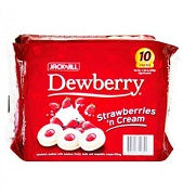Dewberry Strawberry & Cream 33g