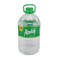 Absolute Pure Distilled Water 4L