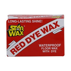 Star Dye Red Wax 90g