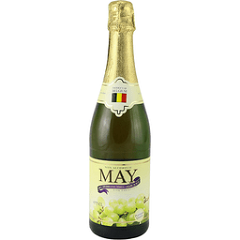 May 100% Sparkling White Grape 750ml
