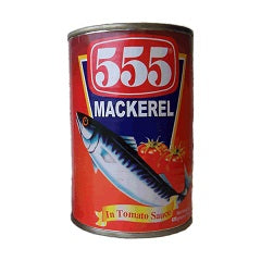 555 Mackerel in Tomato Sauce 425g