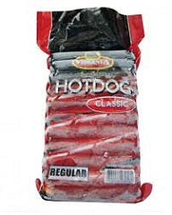 Virginia Premium Hotdog Regular 1kg