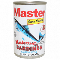 Master Sardines in Natural Oil 155g