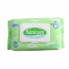 Sanicare Cleansing Wipes 80's