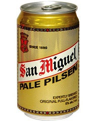 San Miguel Pilsen Can 330ml
