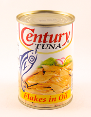 Century Tuna Flakes in Oil 155g