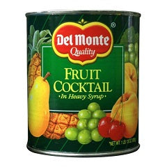 Del Monte Fruit Cocktail Imported 836g