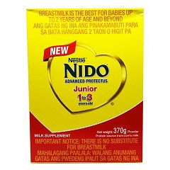 Nido Junior 1-3 Years Old 370g