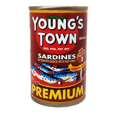 Youngstown Sardines Red Easy Open 155g