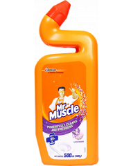 Mr. Muscle Toilet Cleaner Bleach Lavender 500ml