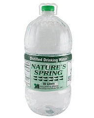 Nature Spring Distilled Water 10L
