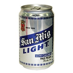 San Mig Light Can 330ml