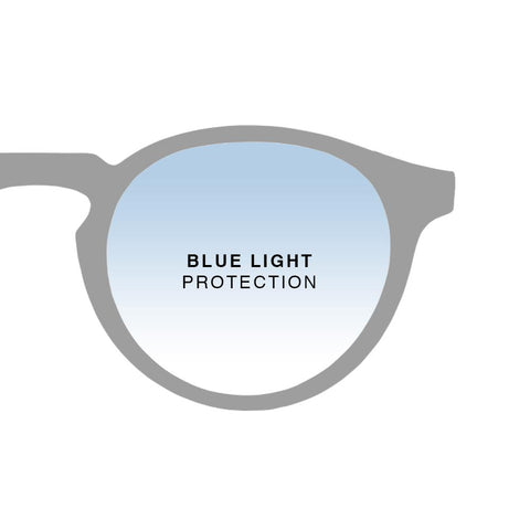 Walter Reddish Black + Basic Blue Light Protection
