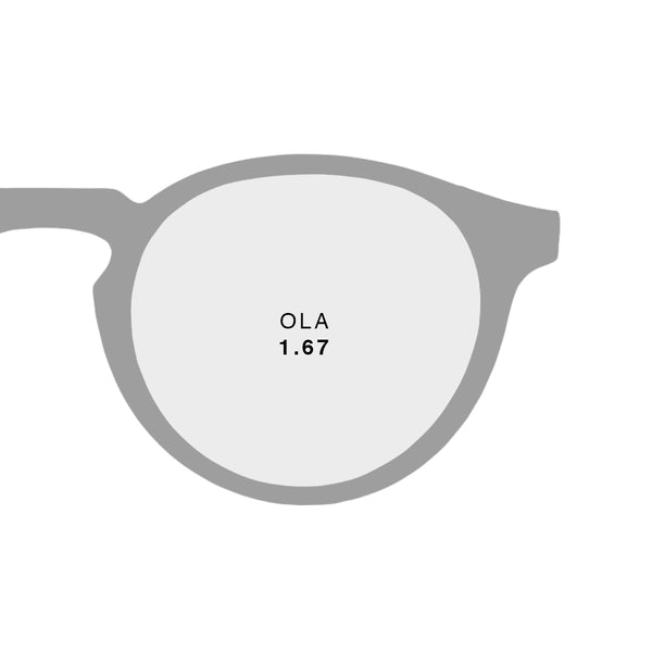 OLA 1.67 Ultra Thin - Optika Lunett