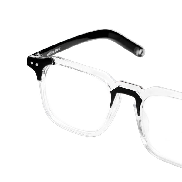 Oliver Clear Black + Basic Blue Light Protection
