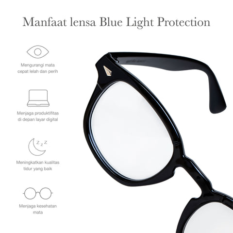 Citium Black + Basic Blue Light Protection
