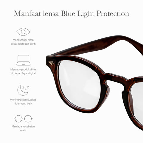 Citium Brown + Basic Blue light Protection