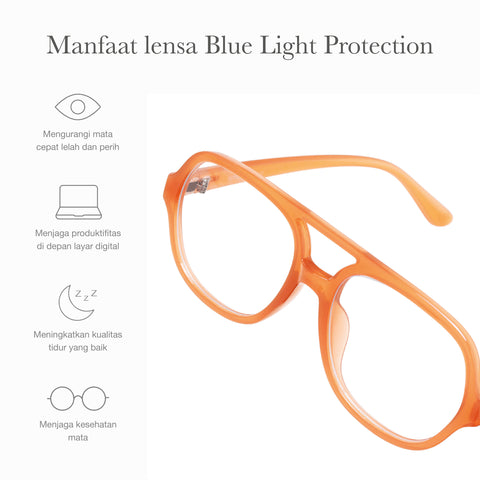 Julian Brown + Basic Blue Light Protection