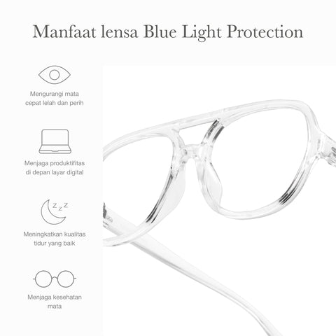 Julian Clear + Basic Blue Light Protection