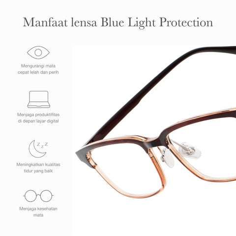 Remy Brown + Basic Blue Light Protection