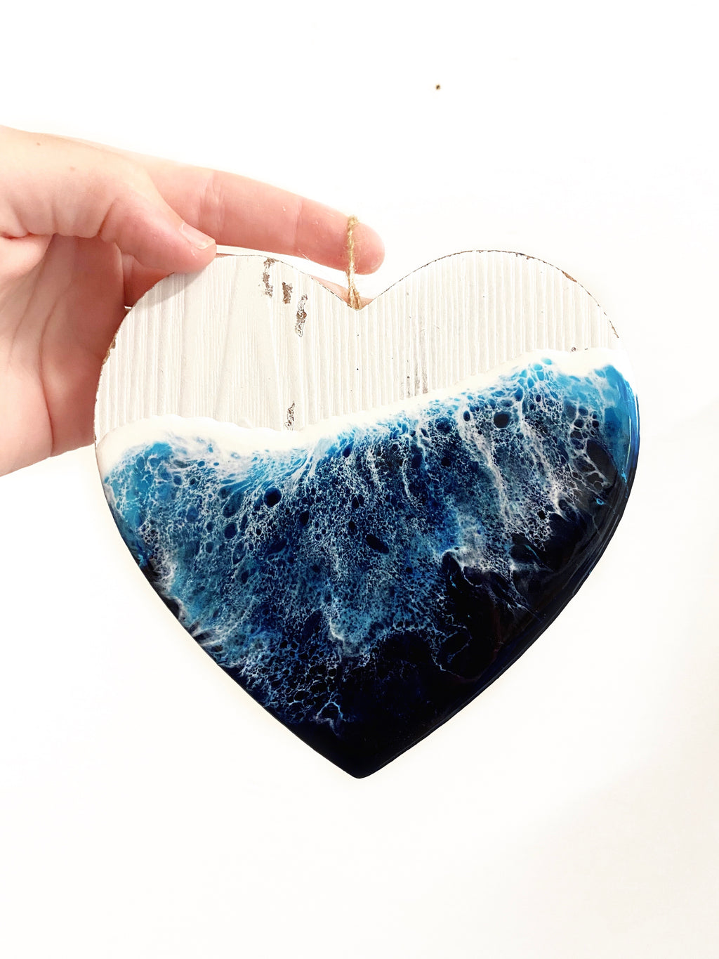 Ocean Heart Ornament