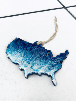 Surfing USA Ornament