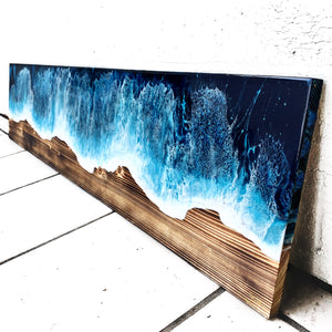 4 ft Wooden Plank Canvas