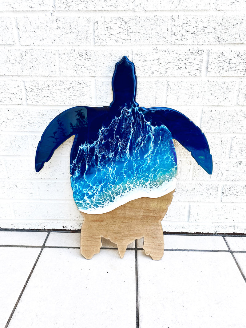 Custom Sea Turtle with Local Sand
