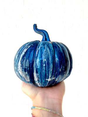 Custom Waterfall Pumpkin
