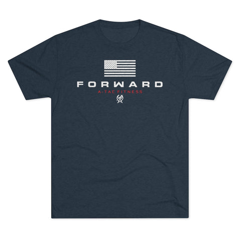 Navy Men's FORWARD Flagship Tri-Blend Tee
