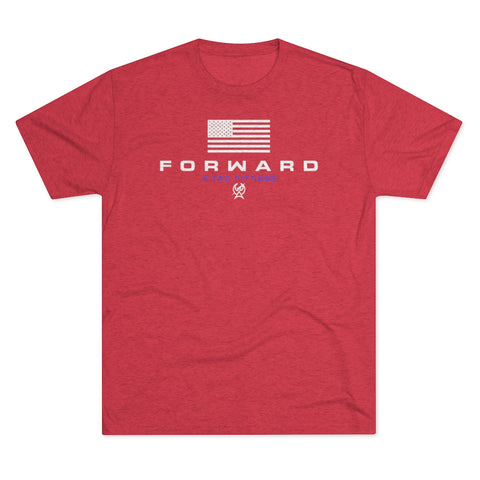 Scarlet Men's FORWARD Flagship Tri-Blend Tee