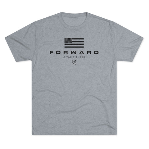 Destroyer Grey Men's FORWARD Flagship Tri-Blend Tee