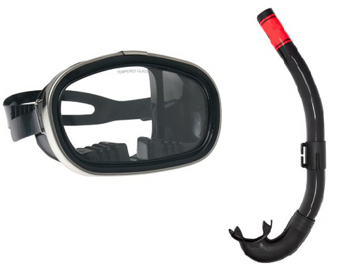 Air Force USAF Pararescue training gear mask and snorkel for Indoc and Assessment and selection