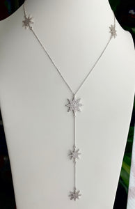 Five Star Lariat Necklace