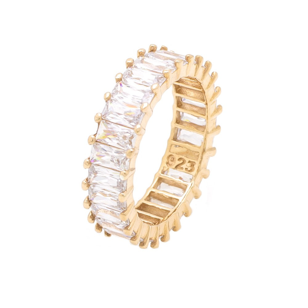 Baguette Ring - Clear