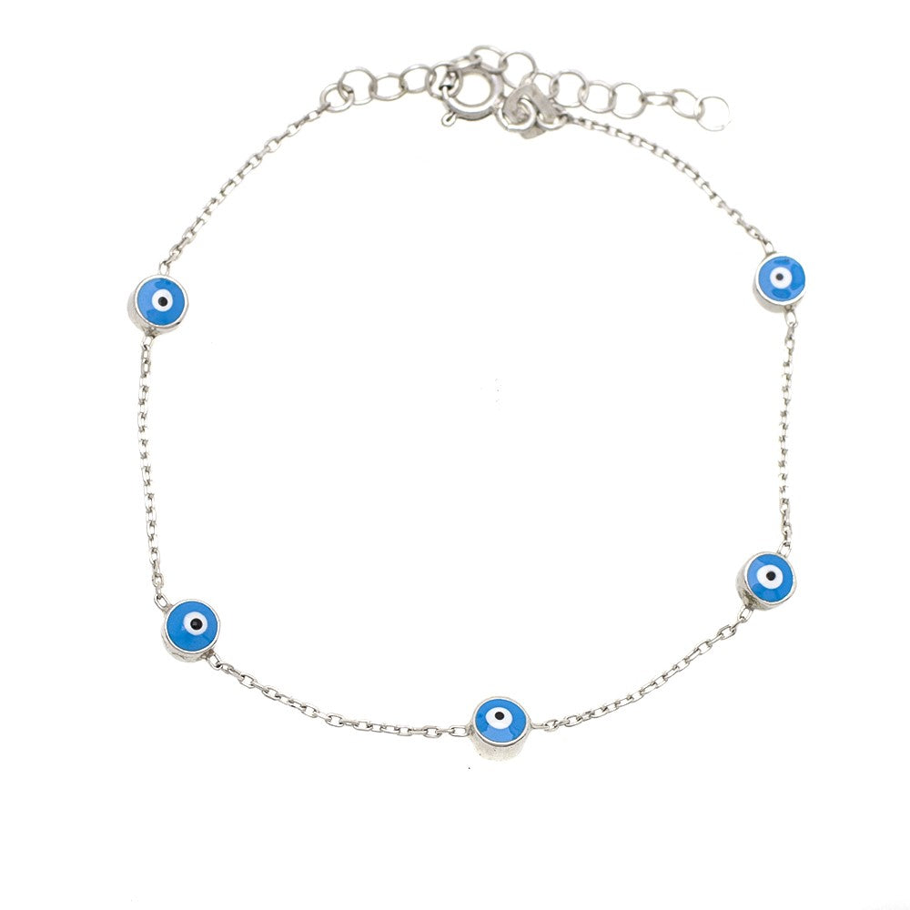 Eye Bracelet Light blue