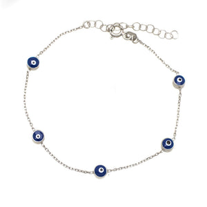 Eye Bracelet Dark Blue