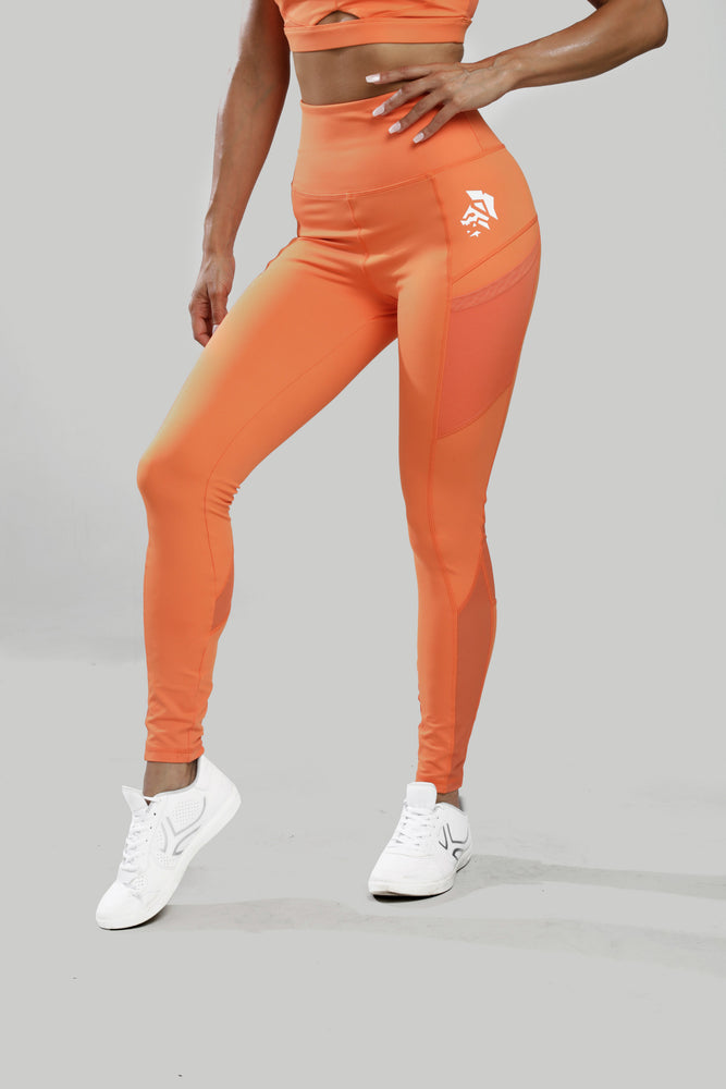 Leggins Espartana - Naranja