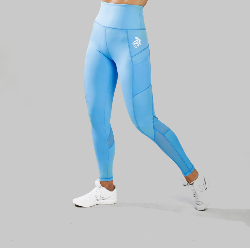 Leggins Espartana - Azul claro