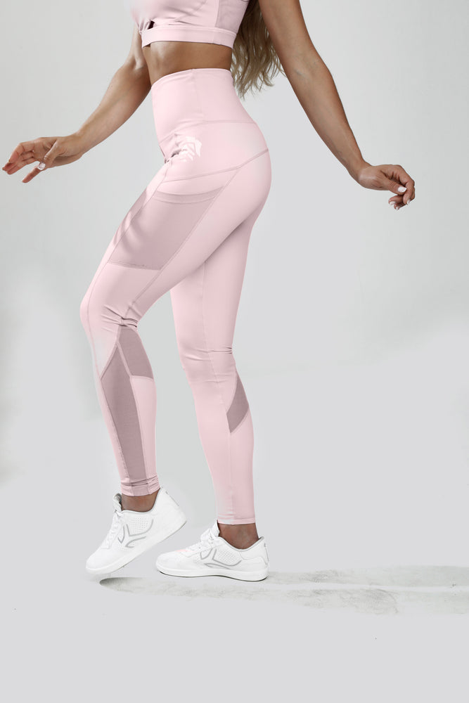 Leggins Espartana - Rosa pálido