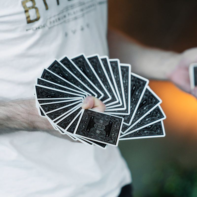 Bitcoin Playing Cards - Black Edition