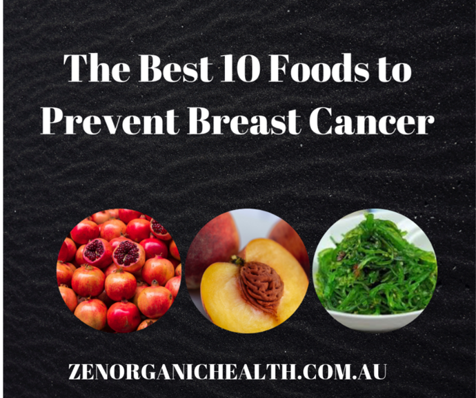 The Best 10 Foods to Prevent Breast Cancer