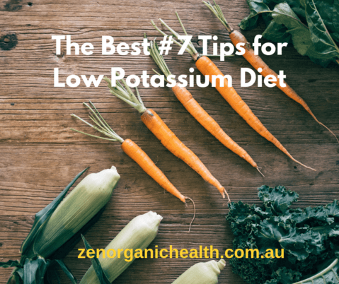 The Best #7 Tips for Low Potassium Diet